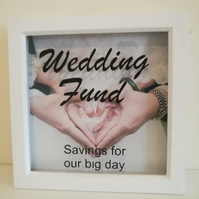 Wedding Savings Money Box Frame