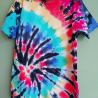 Rainbow Swirl Childrens T-shirt