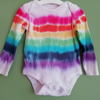Long Sleeved Rainbow Bodysuit SECOND