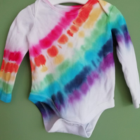 Long Sleeved Rainbow Bodysuit
