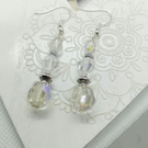 Aurora Borealis dangle earings