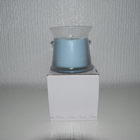 sage & sea salt scented candle