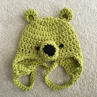 Baby Bear Hats - 0 to 3 months Green