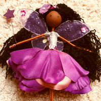 Mixed Race Fairy Doll Ornament