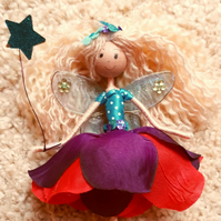 Blonde Fairy Doll Ornament