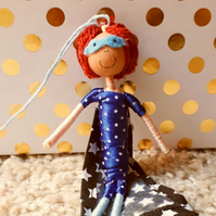Redhead Boy Superhero Decoration