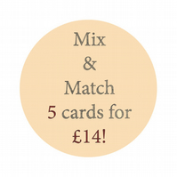 Mix and match 5 cards