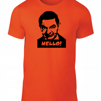 Mr Bean Funny Face Hello T.Shirt