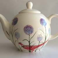 Pretty unique  Allium globe teapot