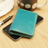 Turquoise Blue Credit Card Holder