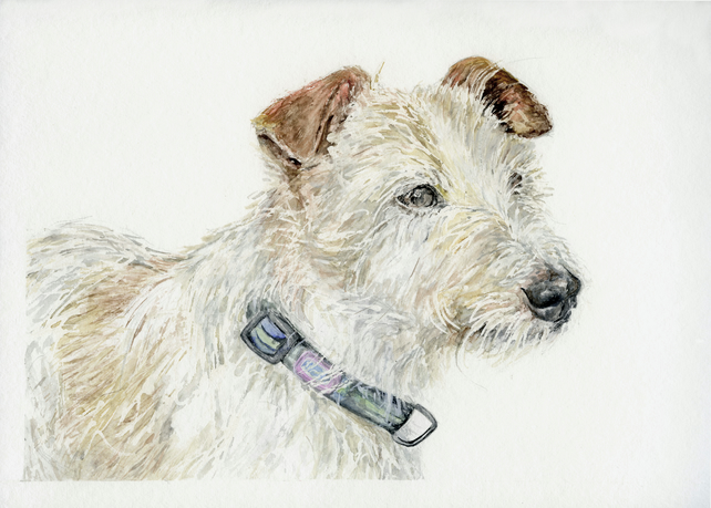 Pet Portrait Commission - Original Watercolour Painting from your Photograph