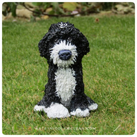 Custom polymer clay pet sculpture, cake topper, made to order OOAK,