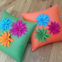 Lily Cushion Cover by Isolyn