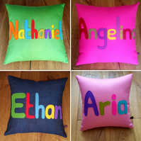 My Name is Cushion - A great way to get little ones to recognise their name