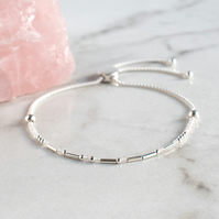 "Morse Code ""Strength"" Bracelet - Fully Adjustable"