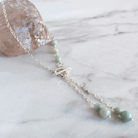 Asymmetric Jade Necklace