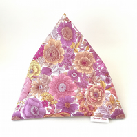 iPad Beanbag, Book Holder - pink floral