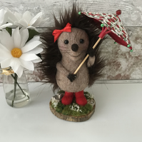 Needle Felt Hedgehog - Krissy