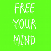 Free Your Mind Unframed A3 print