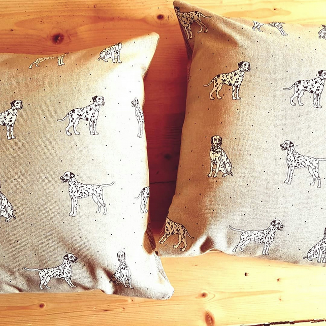Dalmation theme cushion