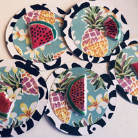 5 handmade summer embellishments for scrapbooking cardmaking paper craft