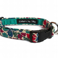Liberty Print Dog Collar – Petal & Bud