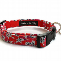 Liberty Print Dog Collar – Wiltshire Berry