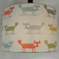 Scandi Foxes Drum Lampshade