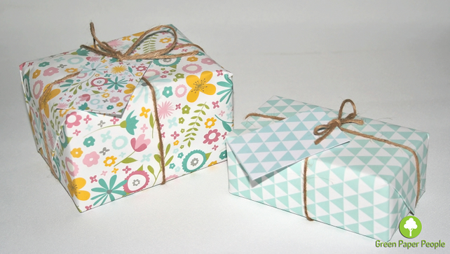 Into the Blue Collection Value pack - Recyclable Gift Wrap