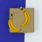 Banana Earrings Earrings
