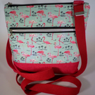 Flamingo Cross Body Koda Handbag