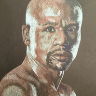 A portrait of Floyd Mayweather jnr