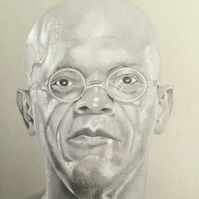 Portrait of Samuel L Jackson