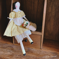 Wooden Doll by Miss Susannah
