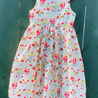 Sleeveless Sundae party dress - ready to post