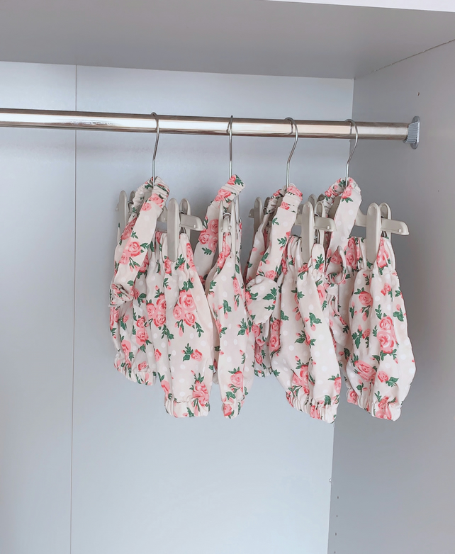 Vintage floral toddler bloomers
