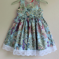 Flower fairy toddler dress - Ready to ship party dress