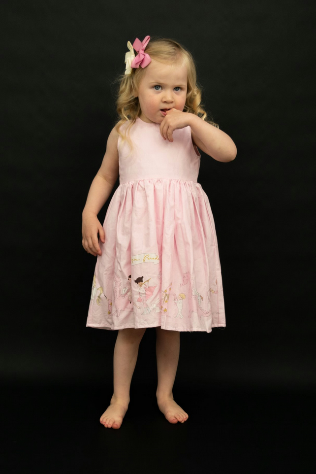 Unicorn party dress - first birthday dress