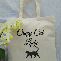 Crazy Cat Lady Calico Tote bag