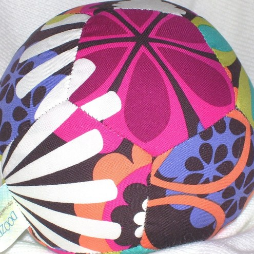 Squidgy Fabric Ball with rattle