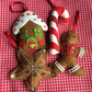 Handmade Gingerbread Decoration Set