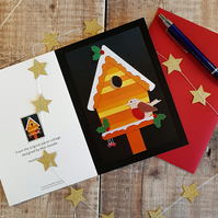 'Robin' Christmas Greeting Card