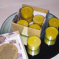 Bee Wax Tea Lights