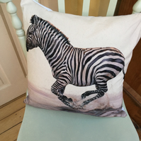 Zebra Cushion