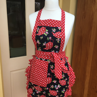 Apron , Ladies Apron ,  Teapot Apron , Ambers Country Crafts