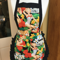 Ladies retro Apron