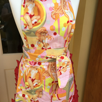 Apron, Ladies Apron, Retro Apron