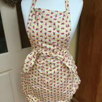 Ladies Apron, Summer Ladies Apron, BBQ, Yellow Apron