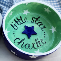 Little star pet bowl.