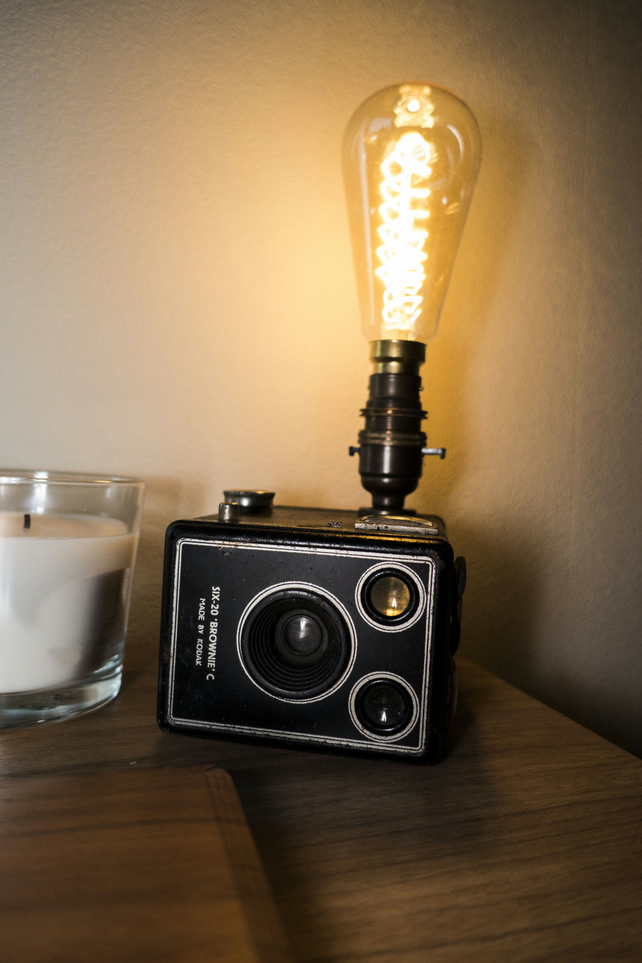 Kodak Model C Brownie Lamp - Camera Lamp